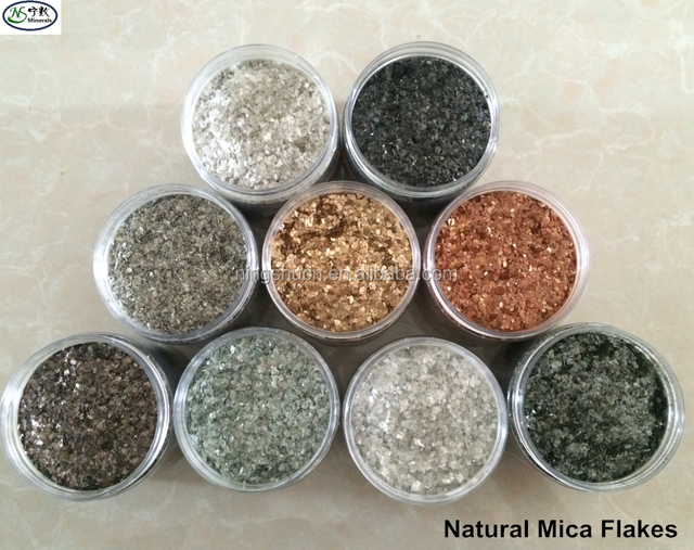 Epoxy Flooring Metallic Natural Color Mica Flakes for Epoxy Resin Flooring Coating