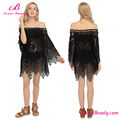 Hot Selling Lace Short Ladies Party Floral Beach Dress