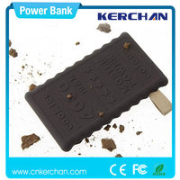 Factory price ! charger portable,portable convenient power charger,metal round power bank with strong led torch
