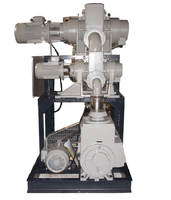 Vacuum booster pump system, Roots rotary vane vacuum system, Multistage vacuum system
