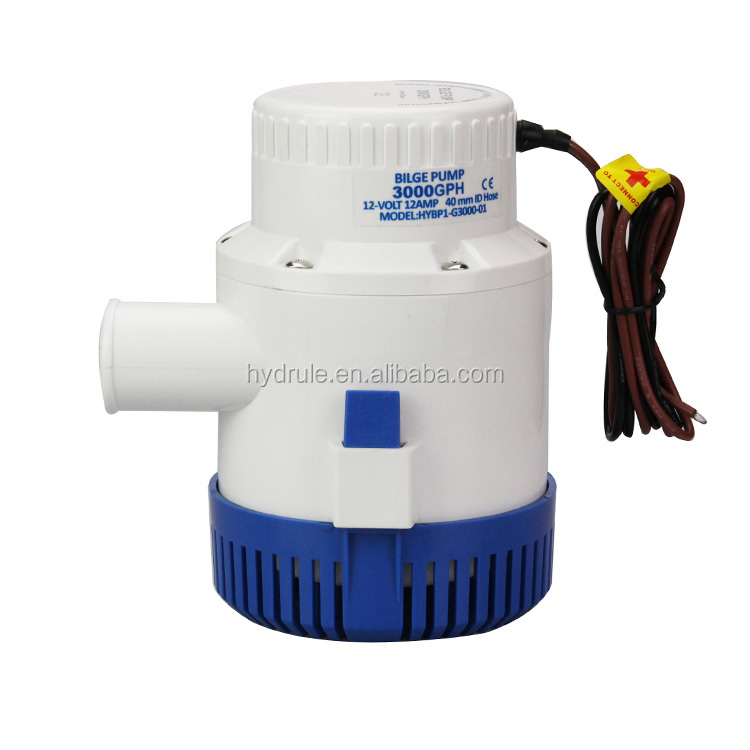 12v electric Bilge Pumps 3000GPH submersible water pump dc marine sea water pump