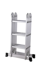 Best Choice Products Scaffold Extendable Heavy Duty Multi Purpose Folding Step Ladder