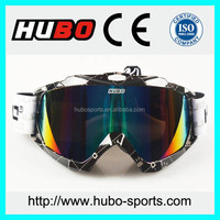 UV 100% Protective motocross sport glasses with large vision