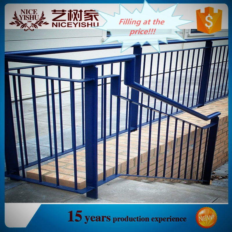 outdoor wrought iron stair railing with best color low
