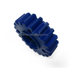 MMS OEM customized plastic paper shredder gear and steel worm transmission parts