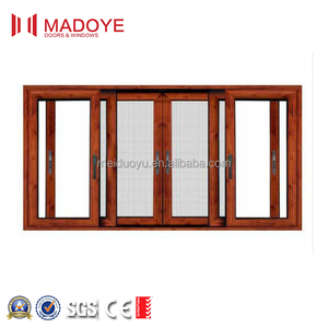 French sliding window aluminum casement windows louver and door