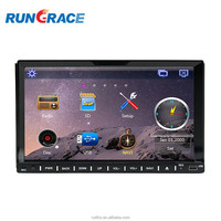 double din gps touch screen car stereo