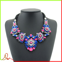 2014 famous designer gemstone beaded shourouk style wholesale jewelry from dubai