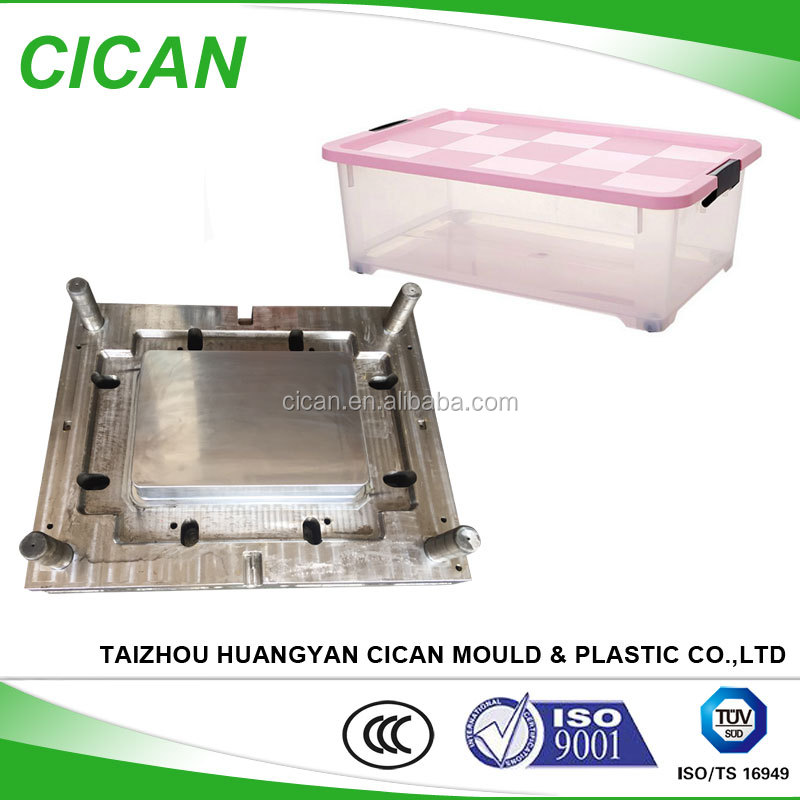 hot Household Mould clear Clothes Storage Box Plastic injection mould making