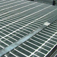 20ft by 3 ft Galvanized GI steel grating (Jiuwang Manufactory)
