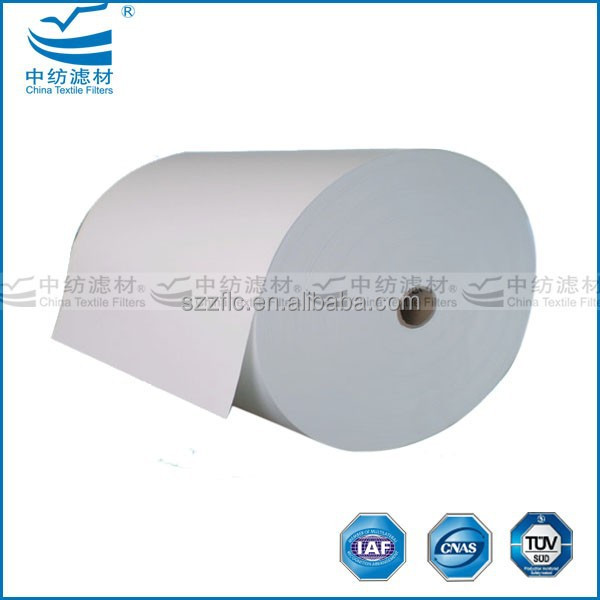 Minipleat micro glass fiber paper