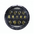 High Quality ! 7 Inch 75W Round Led Headlight for Wrangler