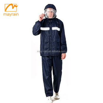2017 Raincoat Adult Mens Raincoats Rain Suit