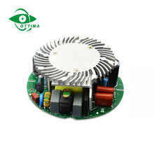 CE RoHS approved ac/dc single output constant current 12w 500ma round shape led power supply