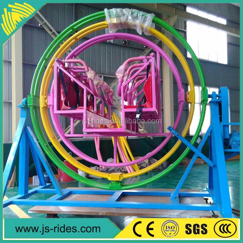 China factory sale uk human gyroscope spaceball rides for theme park