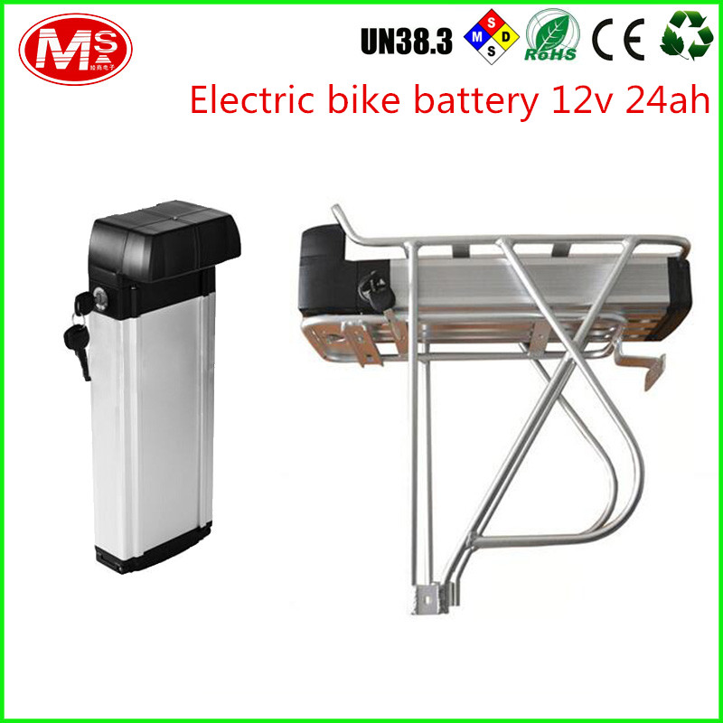 LiFePO4 48v 1000w electric bike battery with Silver Fish box high quality factory price
