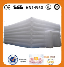 Cube Best selling White inflatbale tent for event ,exhibition / house tent