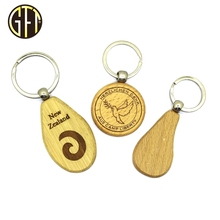2017 wholesale unique wood smart key holder,Custom design logo blank key finder wooden key chain