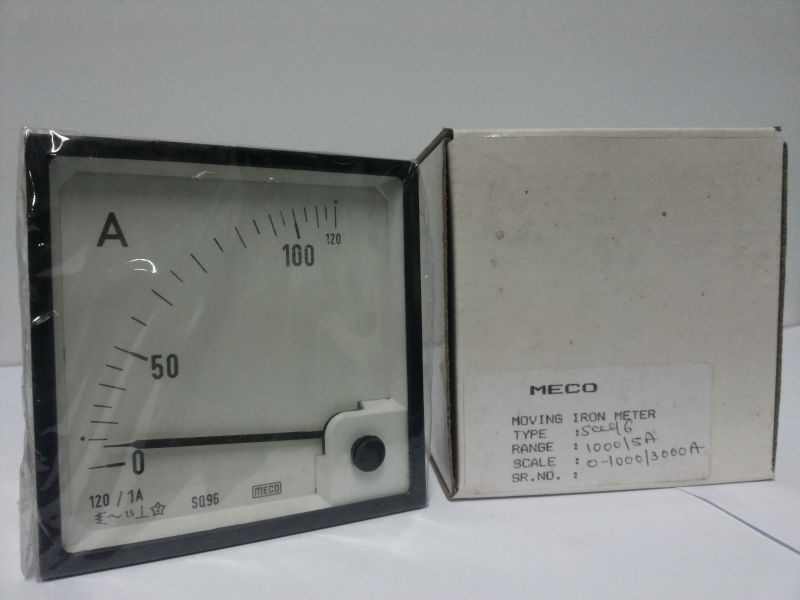 MECO Moving Iron Meter