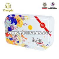 China manufacturer customized coffee joy cookies tin box