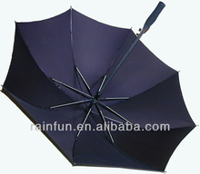 Fashion style fiberglass ribs straight windproof automatic Chinese umbrellas