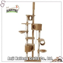 High-end Pet Products and Cats Application Artificial Cat Scratching Tree