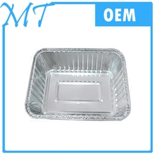 Disposable Airline catering aluminium foil container /foil meal tray /Airline foil lunch box with lid