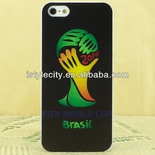 hot selling! 2014 Brazil world cup hard phone case for iphone