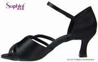 Women DANCE dress shoes WITH single ankle strap