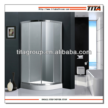 tempered glass shower cabin