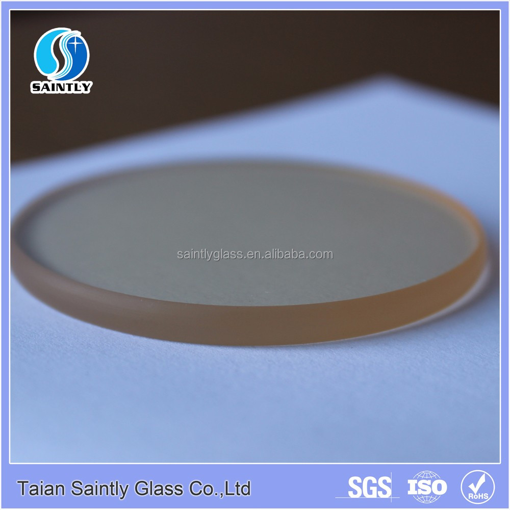 5mm high temperature fireplace ceramic cooktop cover glass