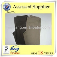 Rayon and nylon mixed Women Pants 3/4 pants casual pants