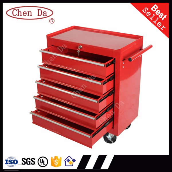 5 drawers roller stainless steel kraftwelle germany tool cabinet drawer cabinet trolley cart