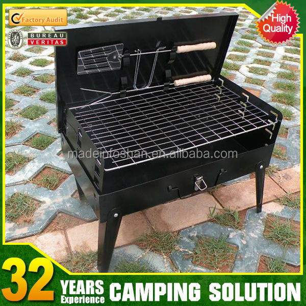 hot sale cheap folding camping used korean bbq grill table