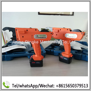 Construction tools rebar tier gun with lithium battery durable