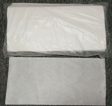 Wet floor cleaning wipes spunlace nonwoven