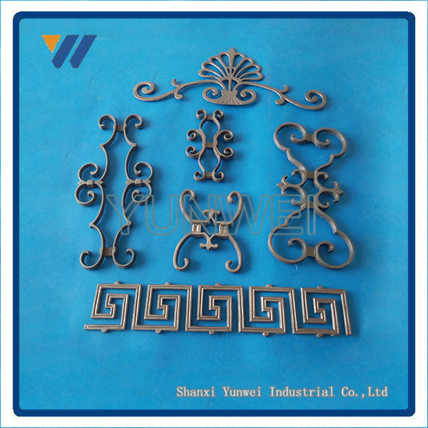 Manufacture China Wholesale OEM decorative wrought iron window grille design