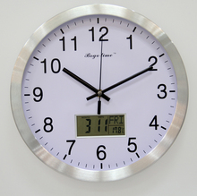 2017 hot selling day-date LCD electric digital calendar clock