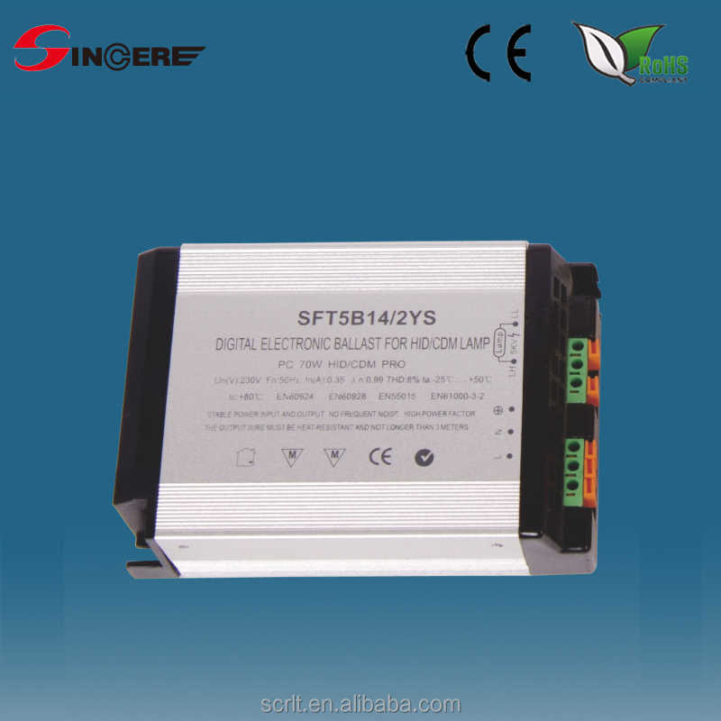 electronic ballast for HID CDM lamp