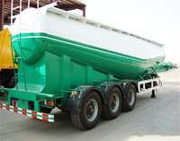 2017 cheap price hot sale New Powder Material Tanker/Bulk Cement Tank Trailer With Large Volume Optional
