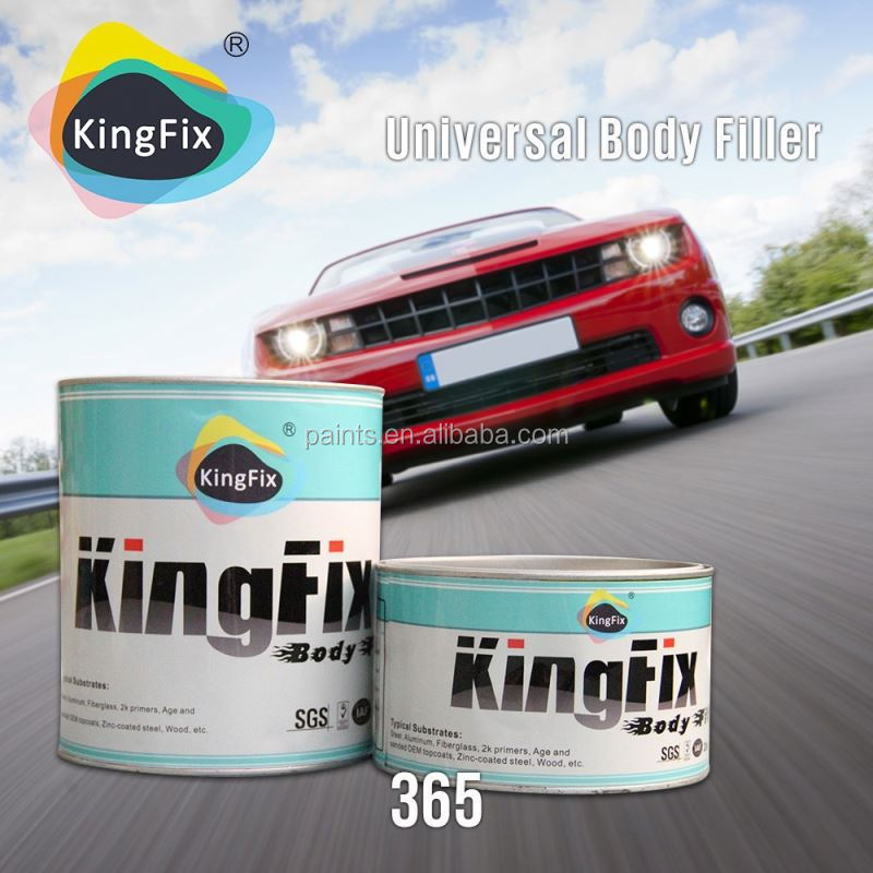 Factory manufacture yellow color competitive price hardener polyester putty for cars
