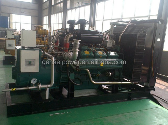 30kw to 500kw Heavy duty industrial automatic mining plant gas power generator