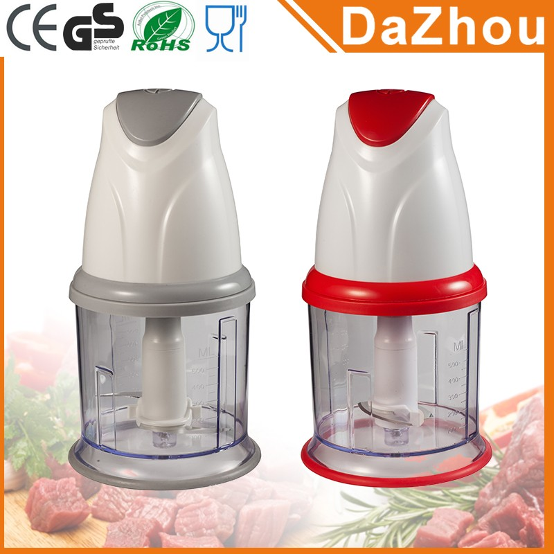 Prime Quality Good Selling One Speeds Electric Food Mini Chopper for Vegetables meats