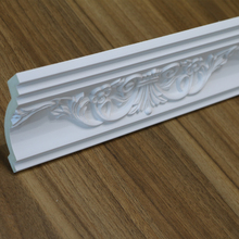 HN-80115 Exterior Polyurethane Decorative Ceiling Cornice Panel PU Foam Crown Moulding