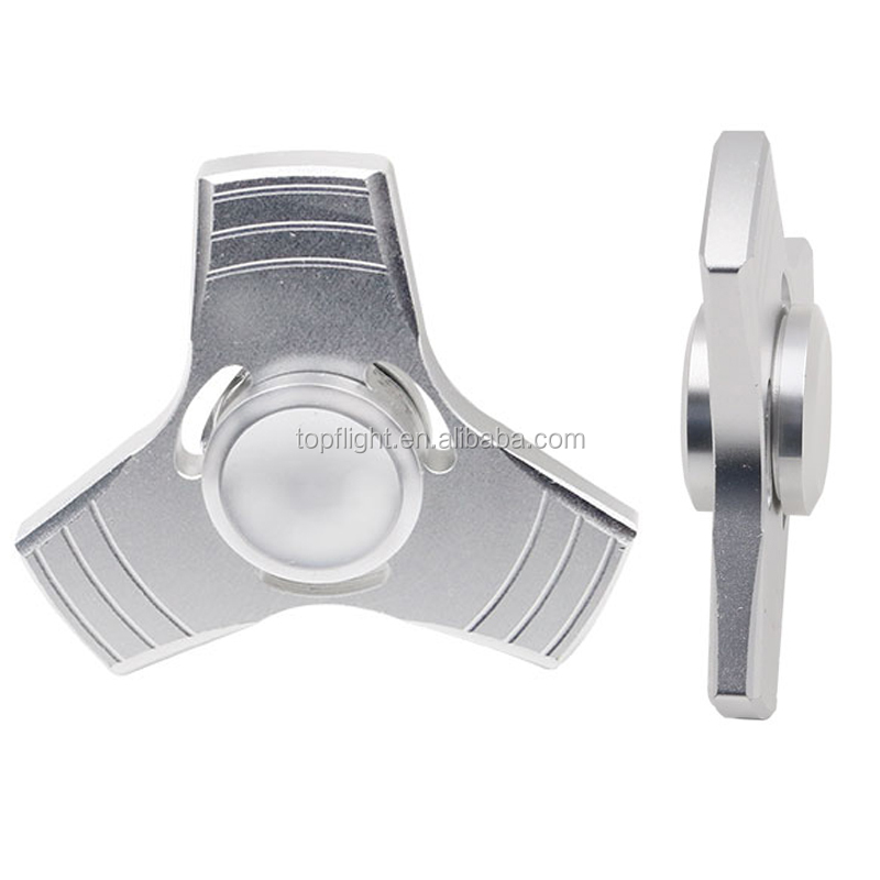 5 Colors Aluminum Alloy Hand Spinner Fidget Toy Fidget Spinner Stress Relief
