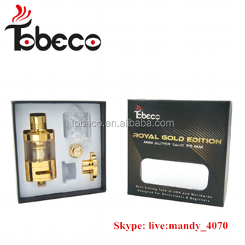 gold and stainless steel super tank mini coils
