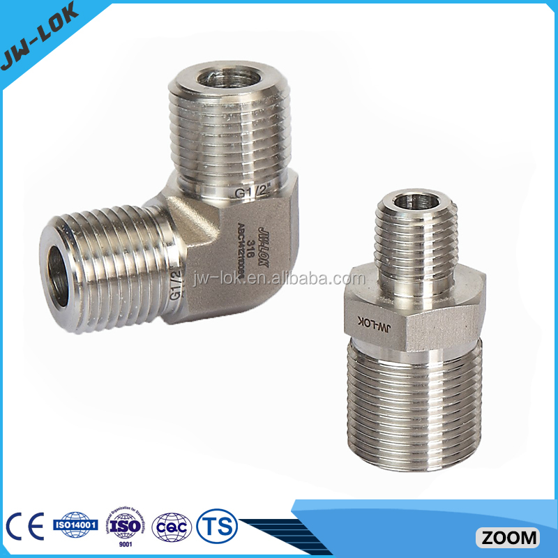 Gas stainless steel threaded pipe fittings buy