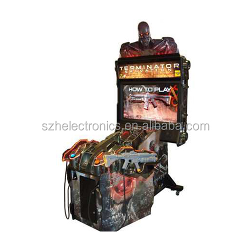 Terminator Salvation Gift Arcade Game Machine