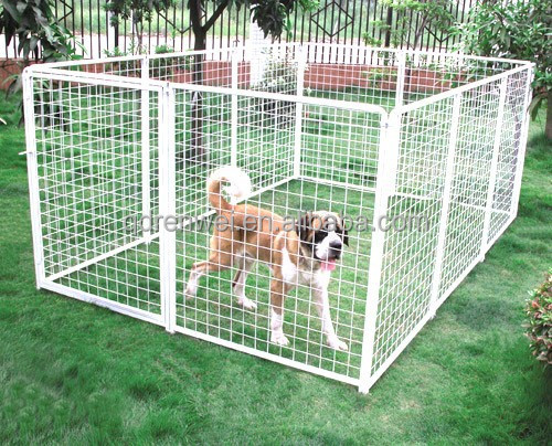 Large Wire Dog Cage,Standing Pet Pen