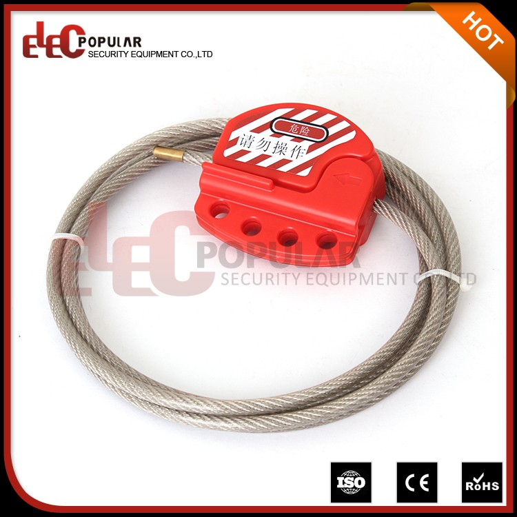 Elecpopular Quality Products Secuirty Wire Cable Seal Locked With 4 Padlock